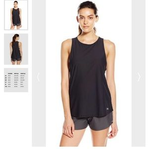 Under Armour Tops - 💝UNDERARMOUR COOLSWITCH RUNNING TANK SMALL